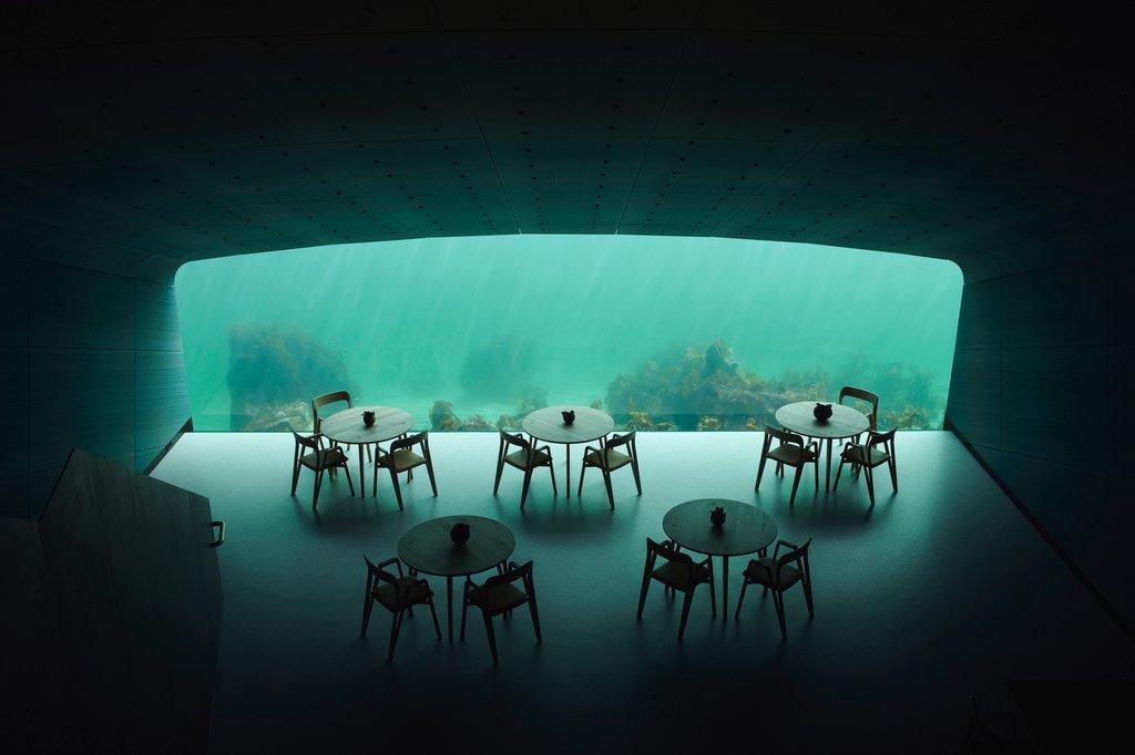 Bầu không khí ấm áp chào đón bên trong nhà hàng xen lẫn với cảm giác kinh ngạc và bí ẩn