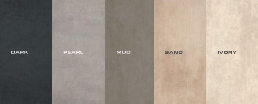 Bảng màu của bộ sưu tập Beton