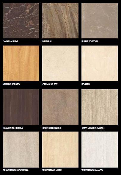 Các gam màu của bộ sưu tập Marmoker 2