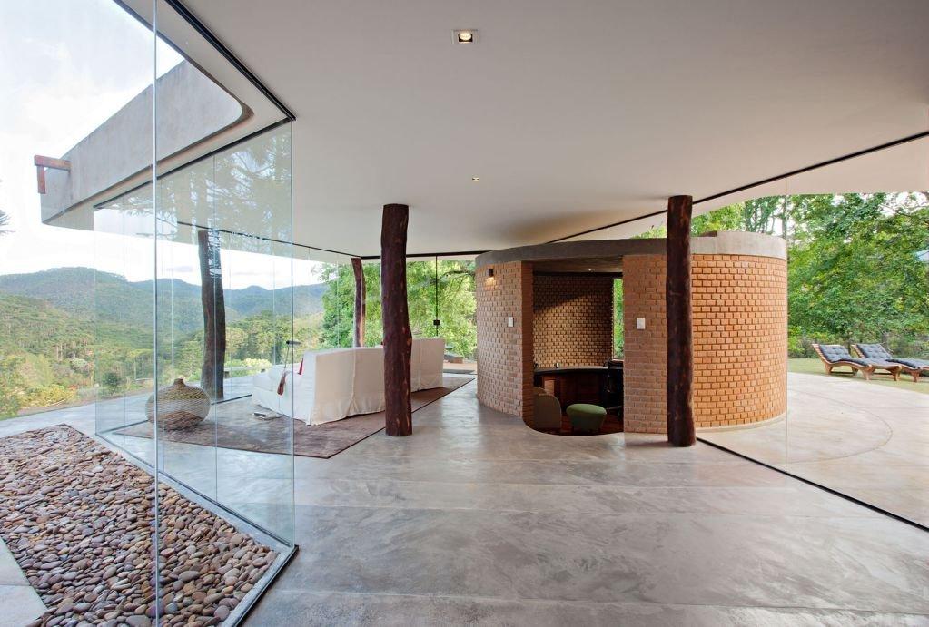 Dự án ngôi nhà Sapucaí-Mirim của Paulo Bastos e Associados