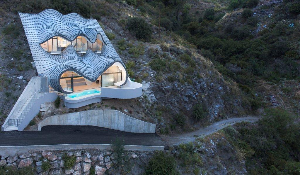 Dự án ngôi nhà trên vách đá