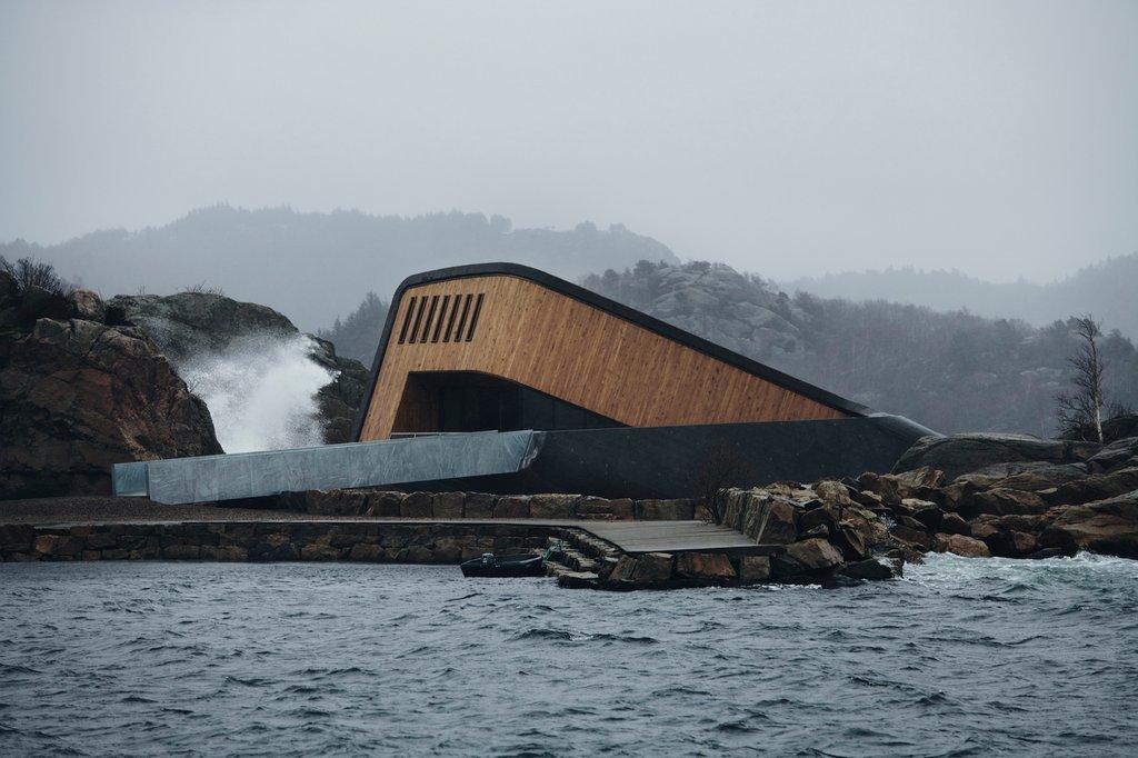 Dự án nằm ở nơi hợp lưu độc đáo nơi những cơn bão biển từ phía bắc và phía nam gặp nhau