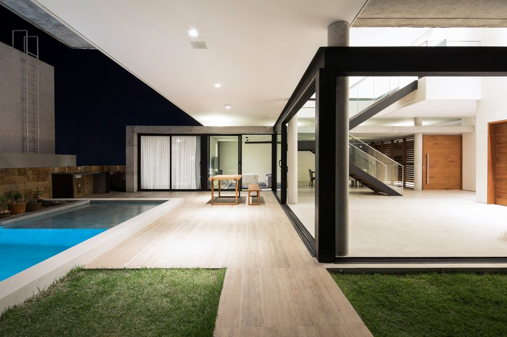 Kiến trúc độc đáo cùng phong cách hiện đại