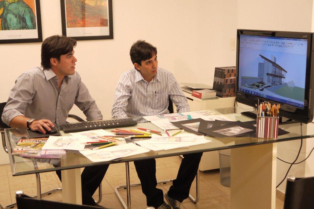 Nhóm kiến trúc sư Martins Lucena Arquitetos