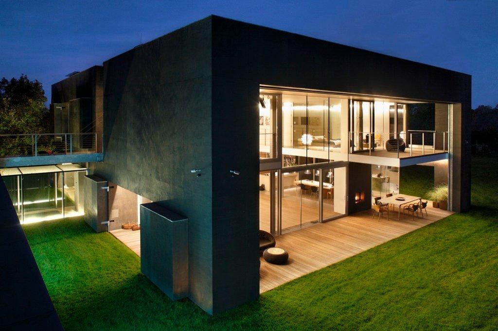 Ngôi nhà có thiết kế đặc biệt được giới hạn khu vực an toàn