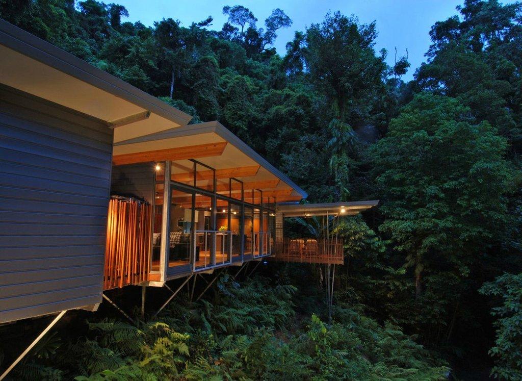 Ngôi nhà HP Tree House trên rừng nhiệt đới