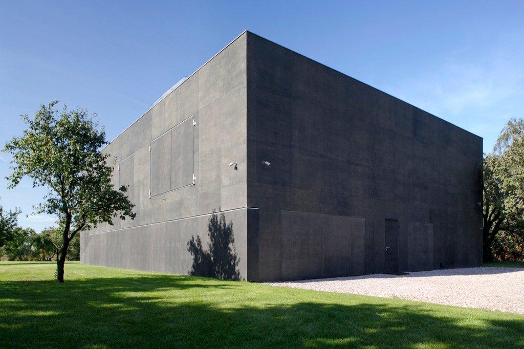 Ngôi nhà với hình dạng của một hình khối học