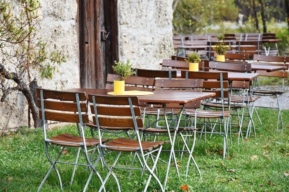Những cách thiết kế nhà hàng sân vườn giúp thư giãn