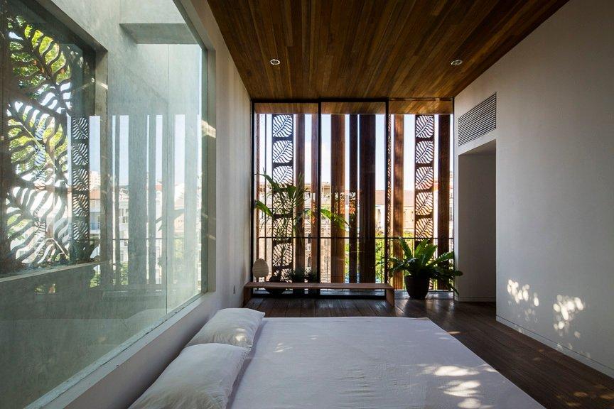 Khu vực phòng ngủ chính của dinh thự