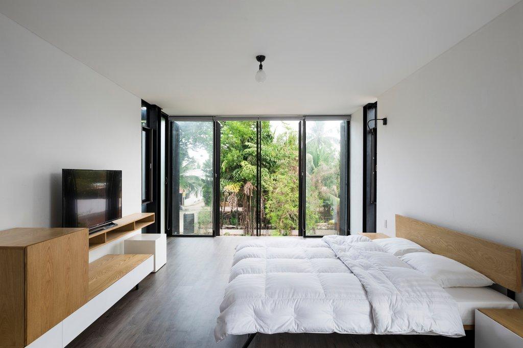 Phòng ngủ riêng tư chính của ngôi nhà