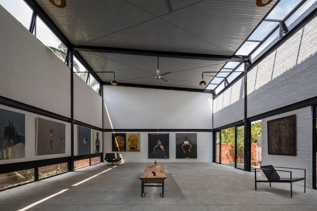 Phòng studio của gia chủ
