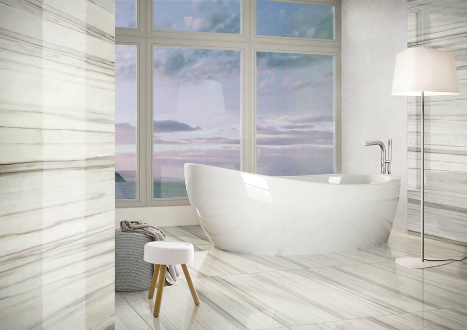 Thiết kế nhà vệ sinh thông thoáng đủ ánh sáng