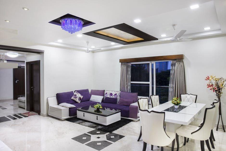 Phòng khách chung cư theo phong cách Hàn Quốc
