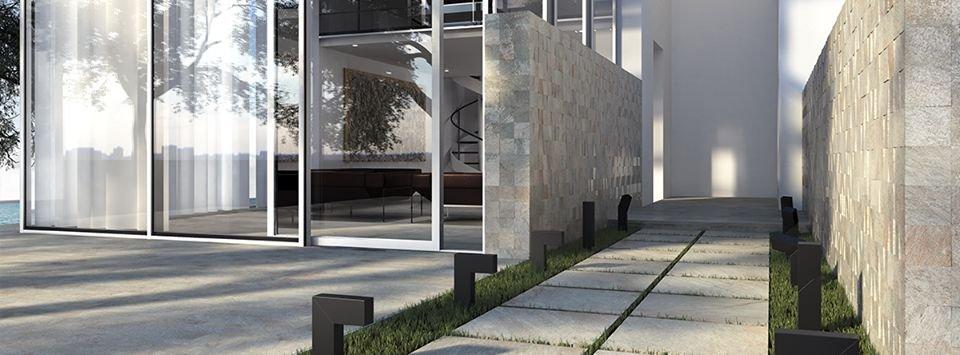 Thiết kế sân thượng theo chiều dọc
