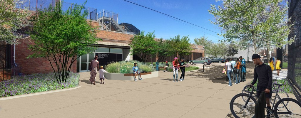 Trung tâm giải trí Brownsville của kiến trúc sư 1100 và MNLA