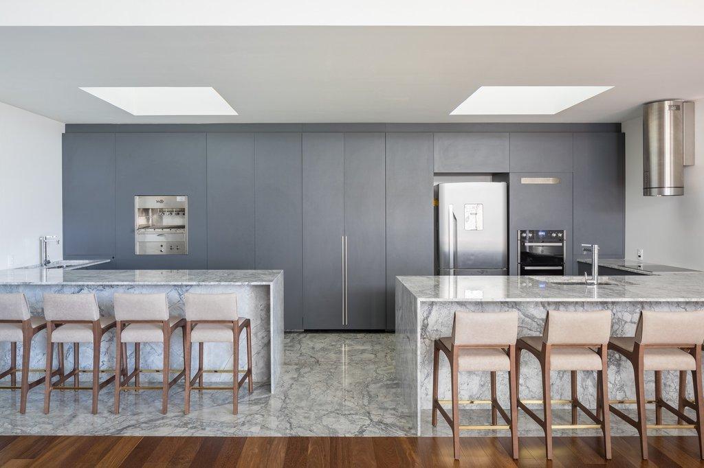 Vật liệu chính cho nội thất là gạch vân đá