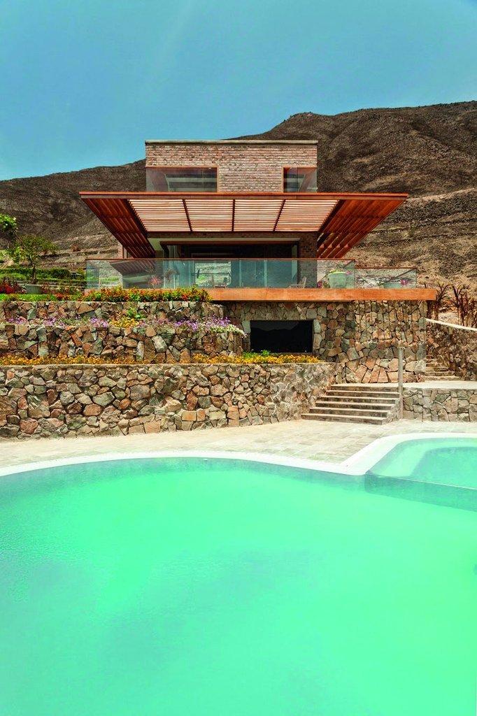 Casa Azpitia được xây trên khu đất cao của thung lũng Azpitia
