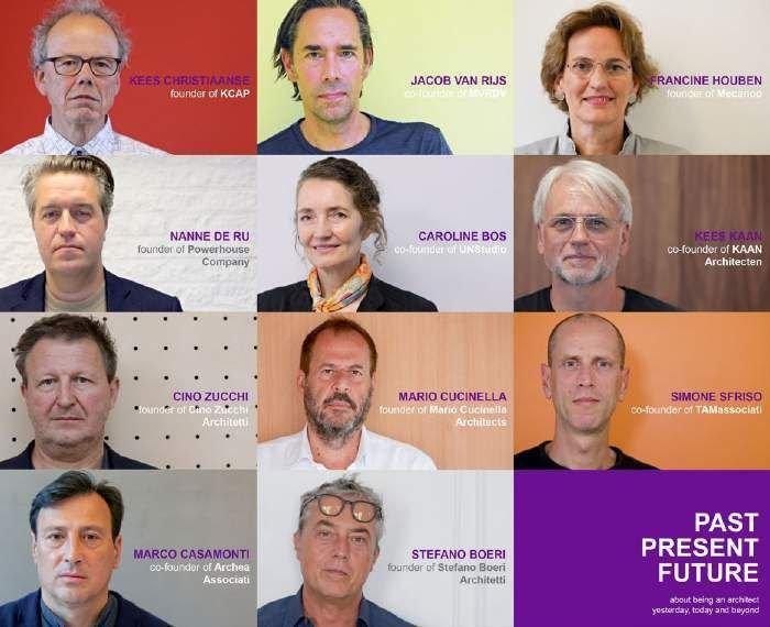 11 kiến trúc sư hàng đầu trong sáng kiến Past, Present, Future