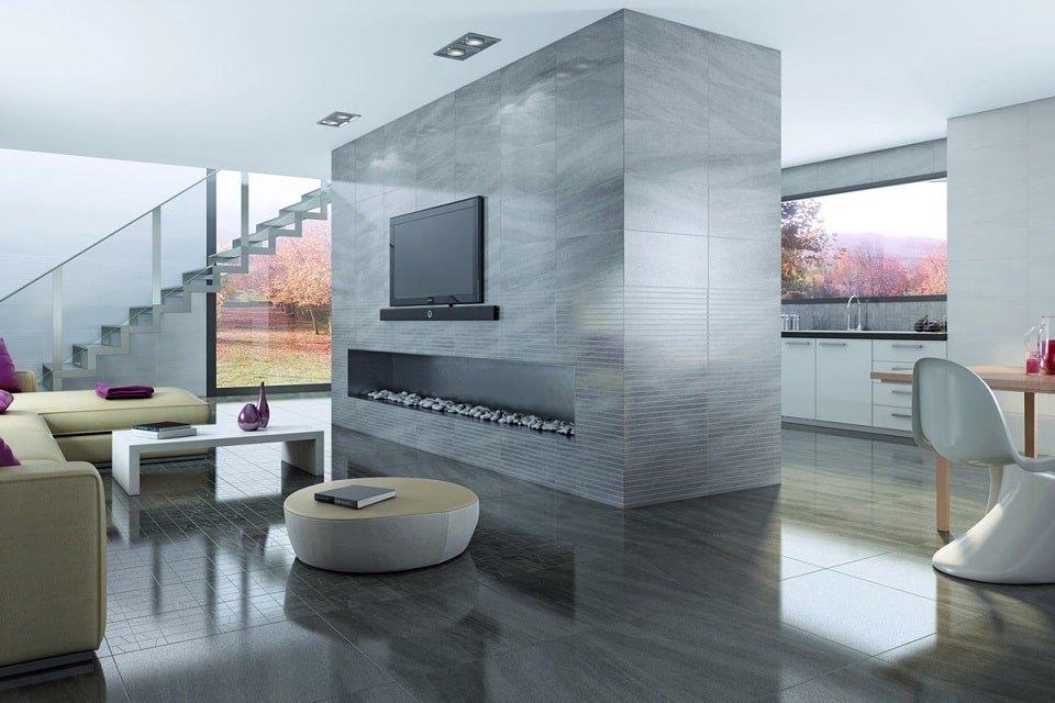 Khi lựa chọn màu sắc cho gạch ốp chân tường cần chú ý đến nội thất của không gian căn phòng