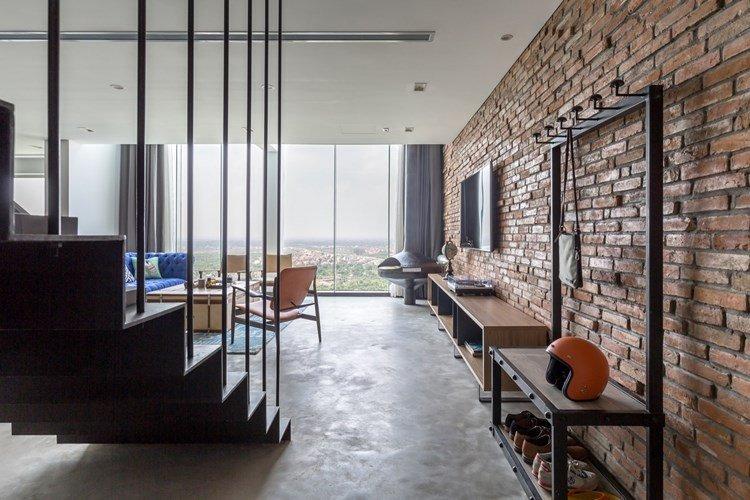 cách xây nhà gạch thô đang dần trở thành xu hướng kiến trúc cho các công trình nhà ở