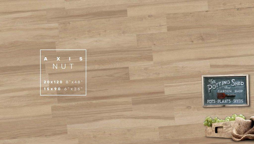 Axis Nut nâu gỗ đem đến một không gian tự nhiên với gam màu thuần gỗ của rừng
