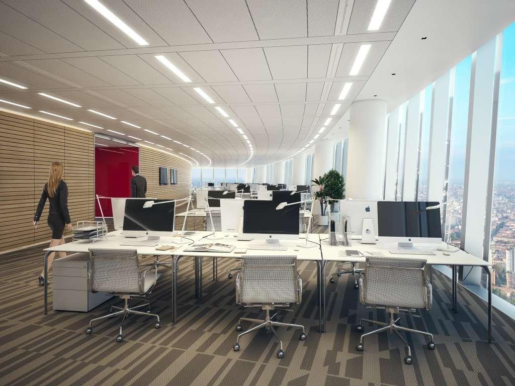 Bề mặt văn phòng thay đổi từng chút một theo các tầng