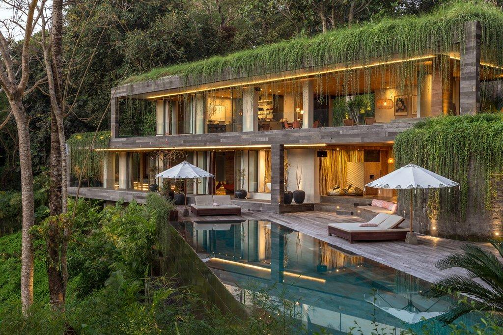 iệt thự Chameleon là dự án nghỉ dưỡng tư nhân nằm trong một ngôi làng ở Buwit