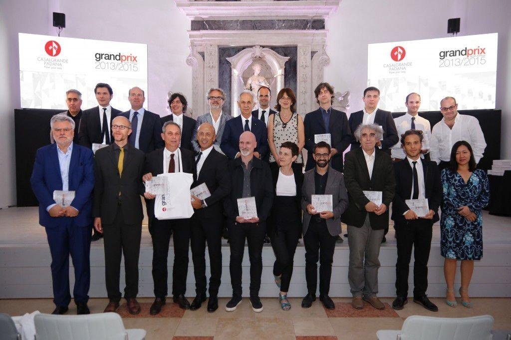 Các kiến trúc sư được trao giải trong sự kiện