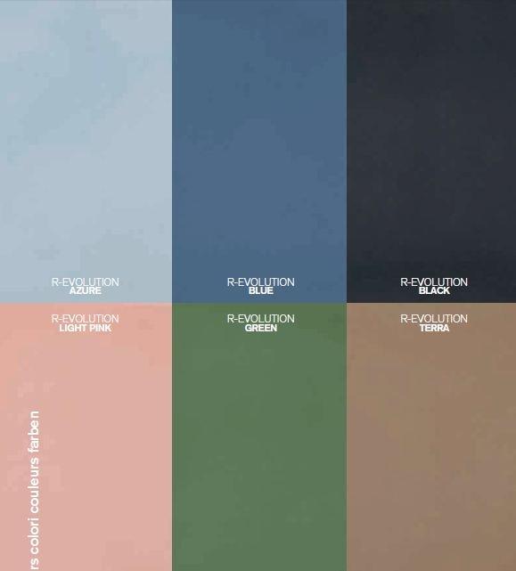 Các gam màu vân đá của bộ sưu tập R - Evolution 2