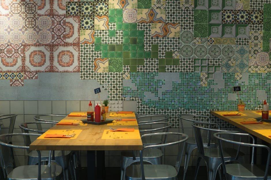 Cách phối màu trong thiết kế nhà hàng
