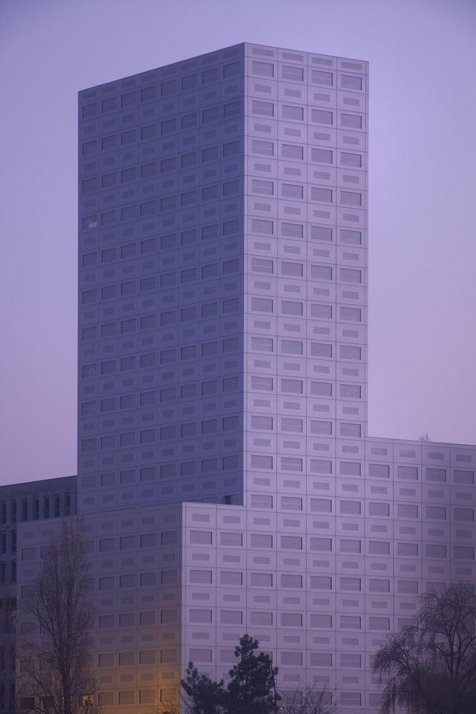 Cấu trúc bên ngoài của tòa tháp