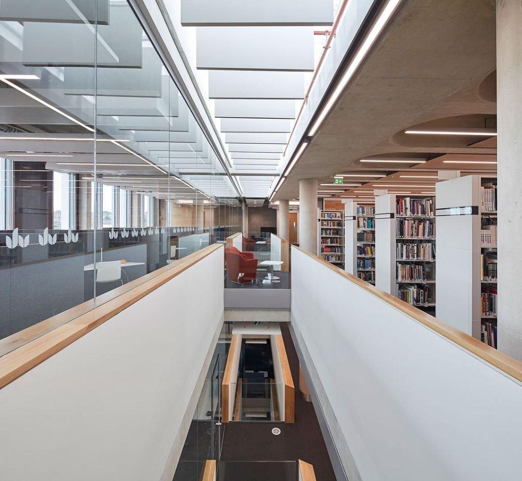 Cấu trúc của thư viện tạo ra sự thoải mái cho người sử dụng