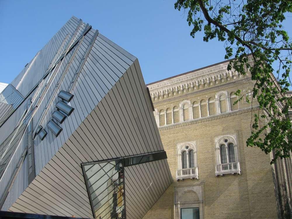 Cấu trúc thép bọc nhôm theo phong cách của Daniel Libeskind
