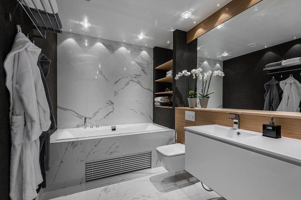 Chọn gạch lát sàn cho nhà tắm, nhà vệ sinh và cầu thang