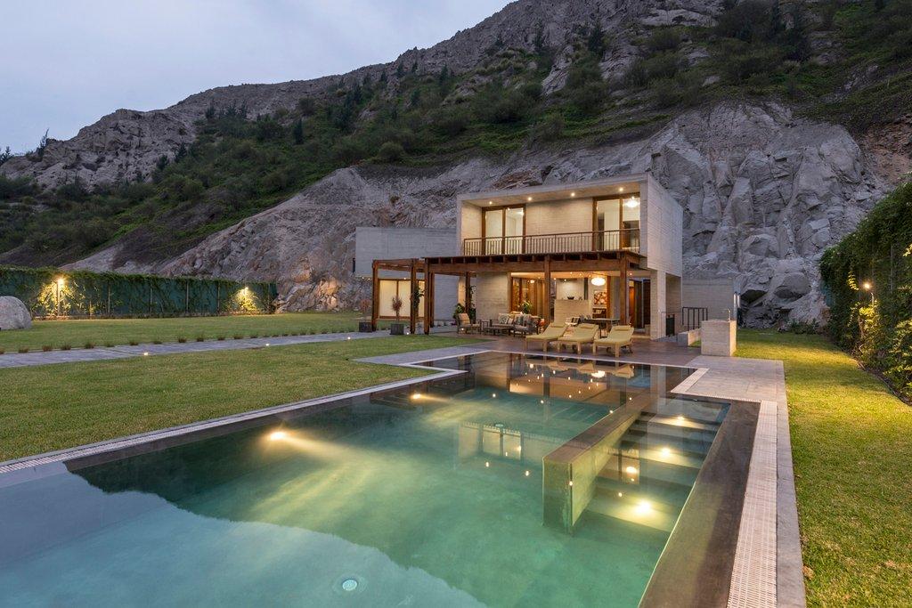 Dinh thự tư nhân MEC House tại vùng ngoại ô Lima
