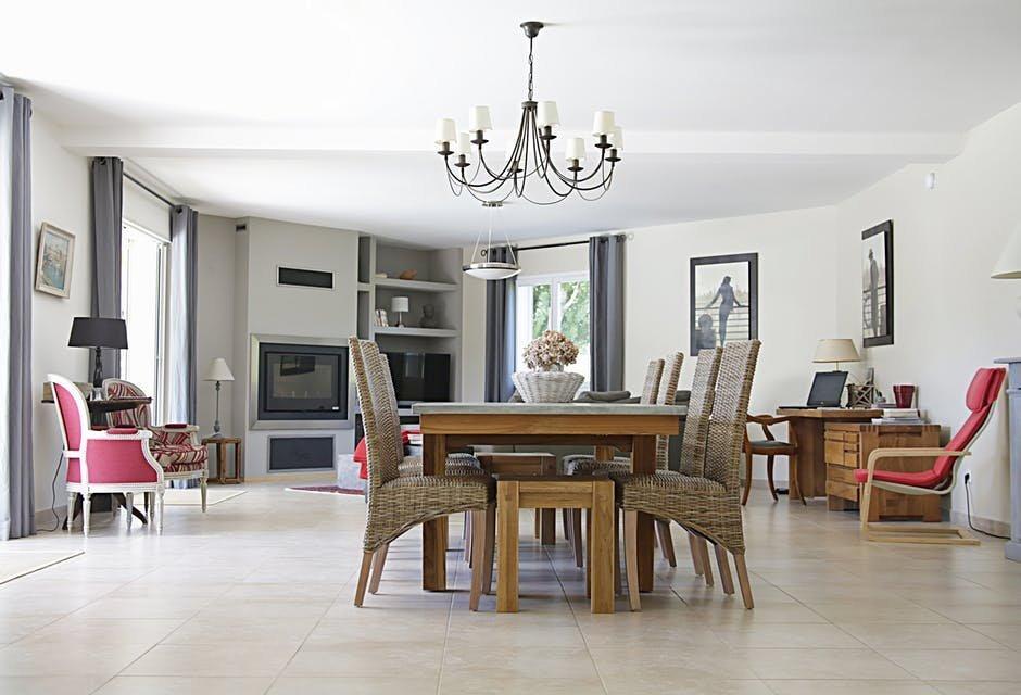 Đồ nội thất tỷ lệ thuận với không gian trong nhà