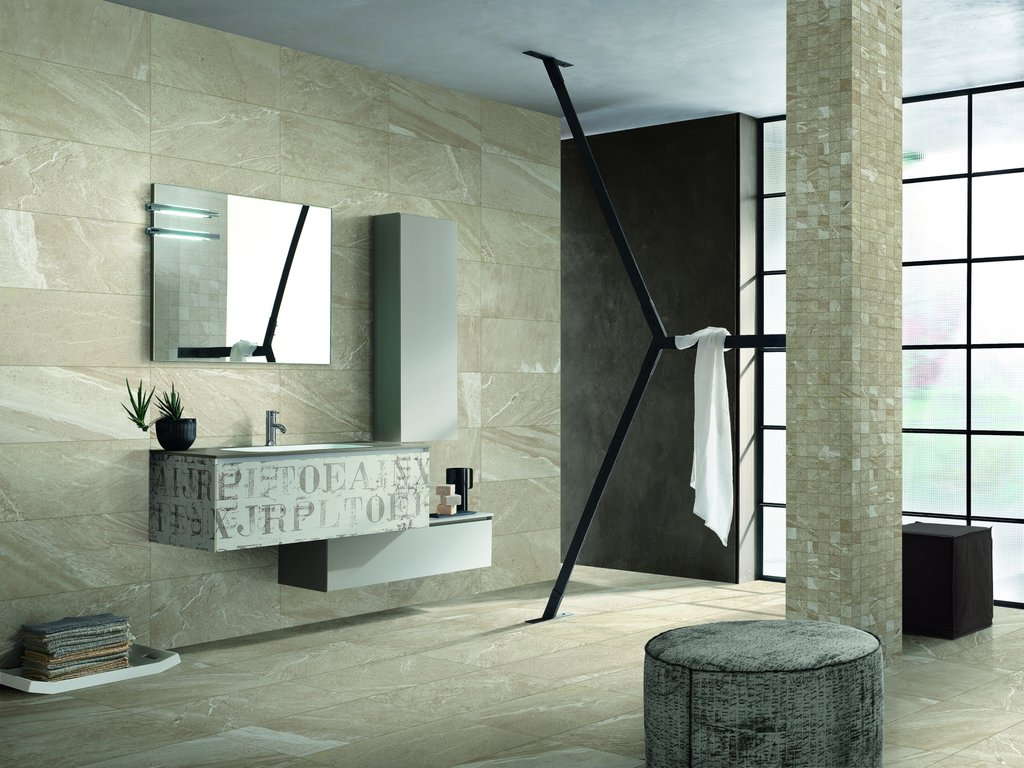 dòng sản phẩm vân đá được ứng dụng với cả hai mẫu ốp lát và trang trí