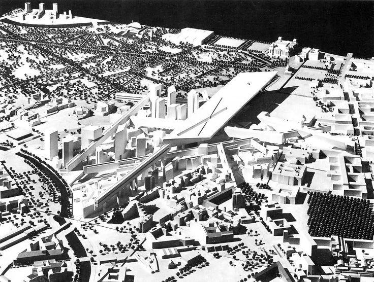 Dự án - Potsdamer Güterbahnhof của Daniel Libeskind