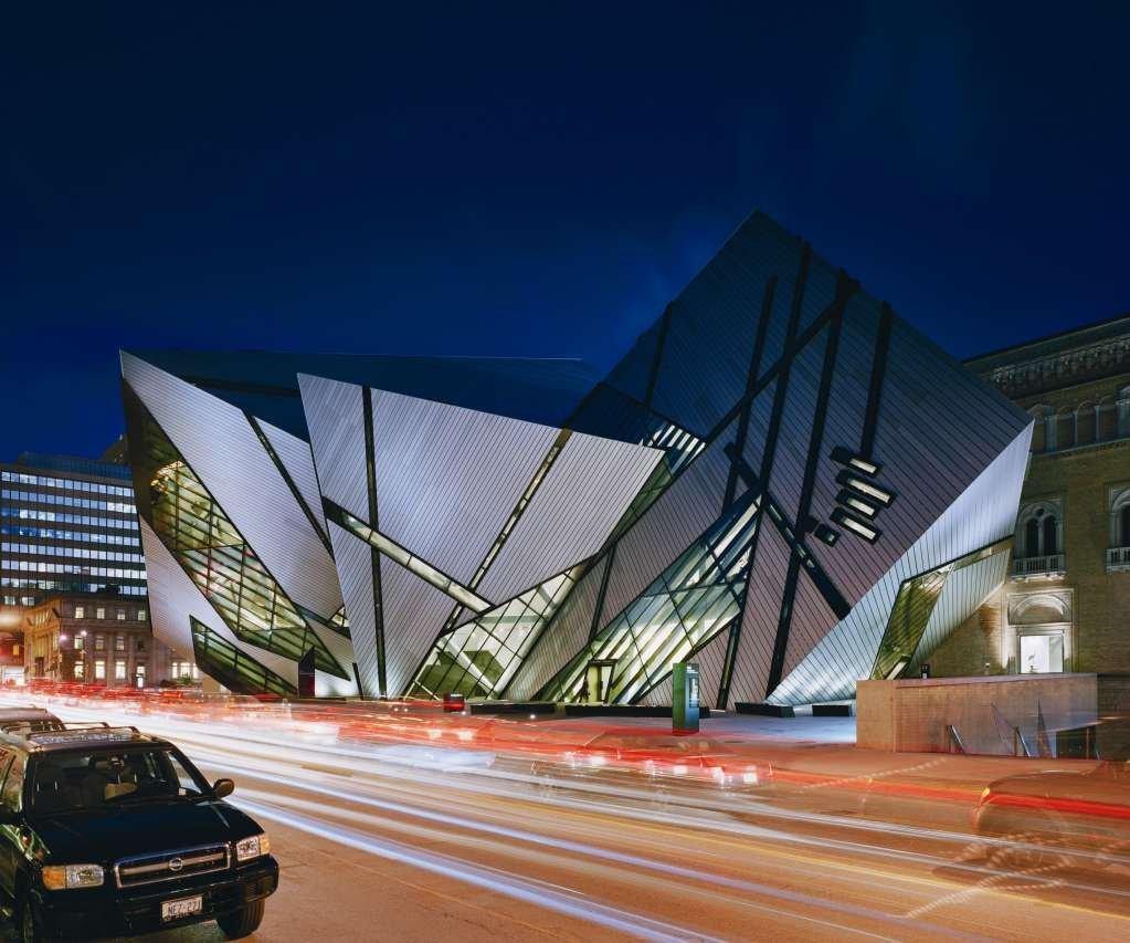 Dự án thiết kế Bảo tàng Hoàng Gia Ontario của Daniel Libeskind