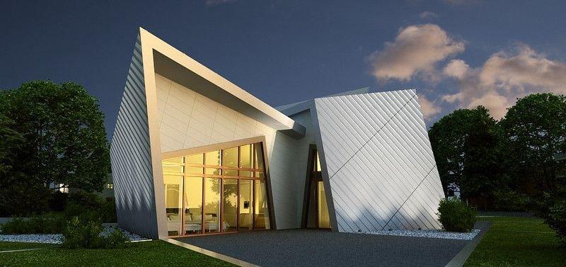 Dự án thiết kế biệt thự The Villa ở Đức của Daniel Libeskind