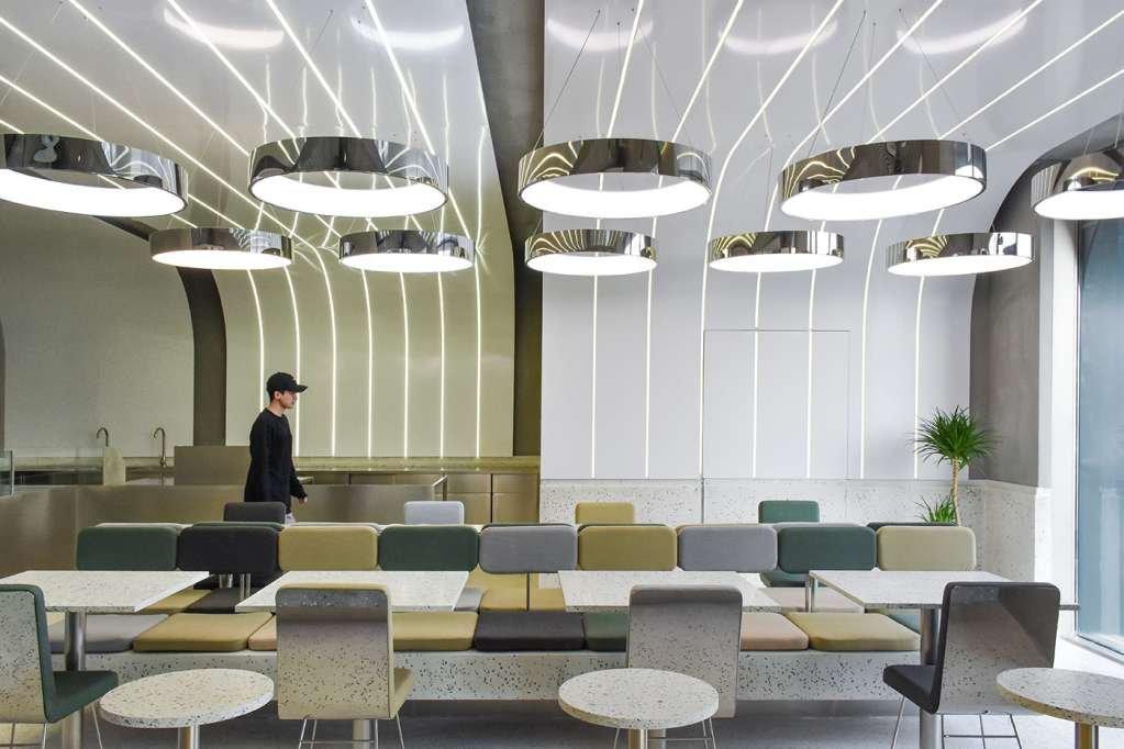Dự án thiết kế nội thất Green Option Food Court