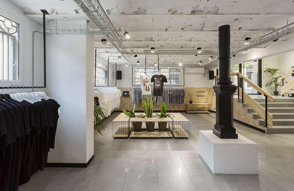 Dự án thiết kế cửa hàng Suara Store của CLAP Studio