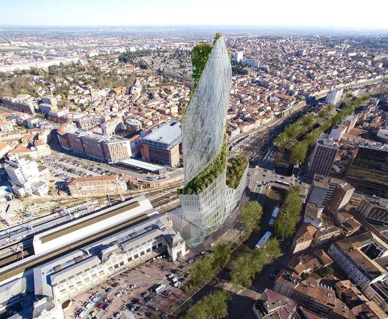 Dự án thiết kế Occitanie Tower của Daniel Libeskind tại Pháp