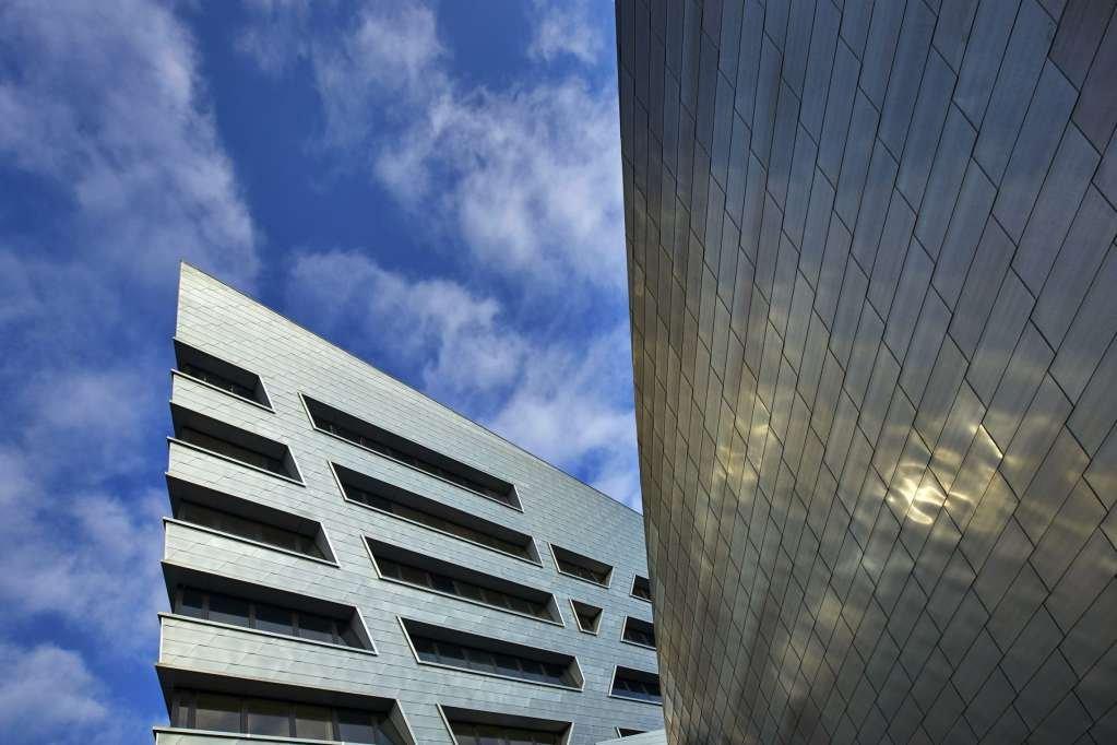 Dự án thiết kế tòa nhà Libeskind trong trường Đại học Luneburg