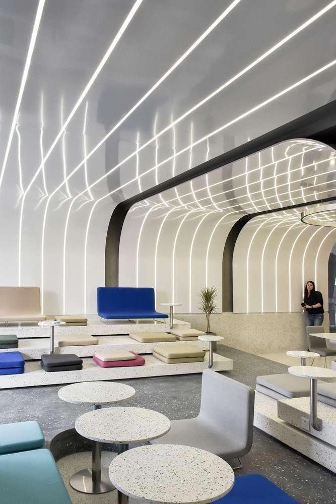 Dự án thiết kế với nhiều khu vực khác nhau có sự kết nối