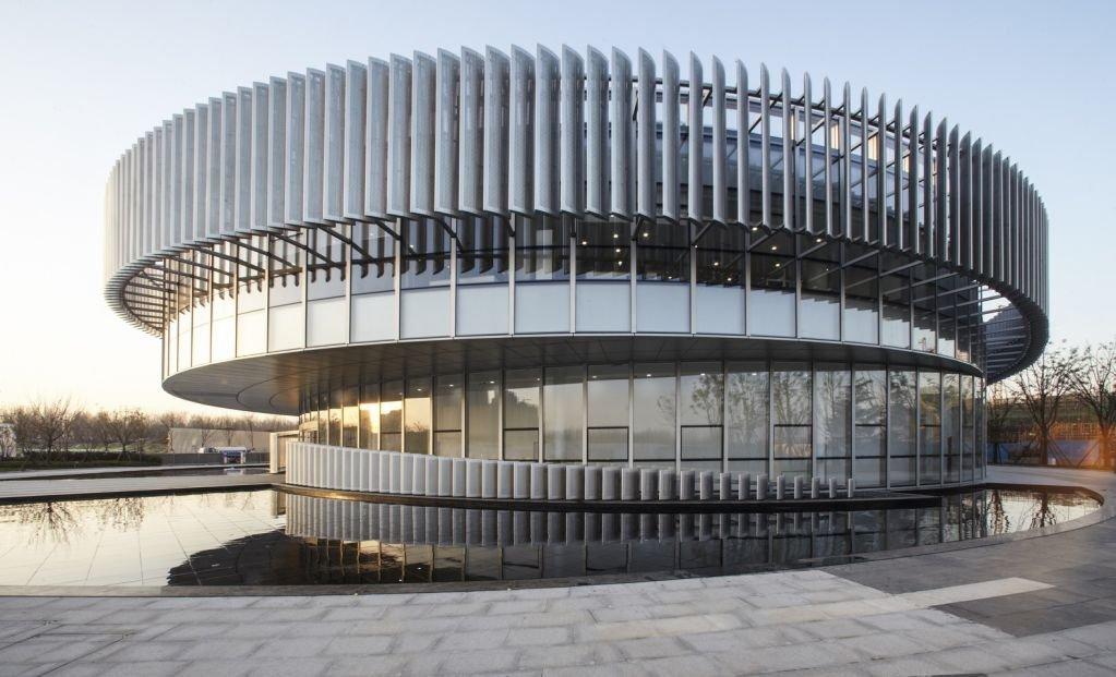 Trung tâm triển lãm của Zhengzhou Linkong tại Công viên Biopharmaceutical