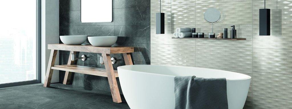 Gạch ốp tường giúp công trình tránh được những tác động từ bên ngoài như một lá chắc hoàn hảo