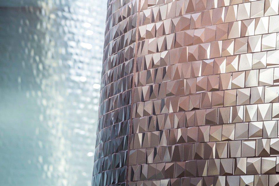 Gạch 3D ốp tường độc đáo
