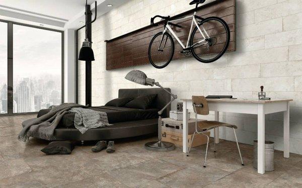 Chọn gạch giả đá ốp tường cho phòng ngủ