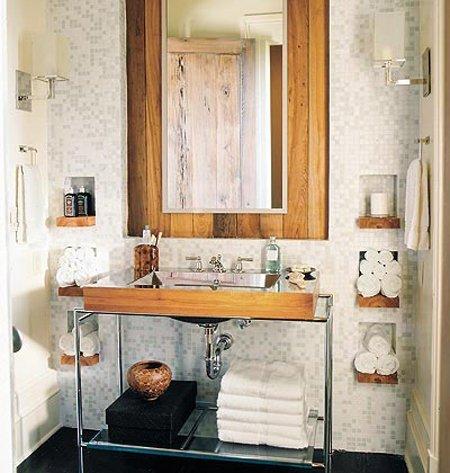 Sự kết hợp gạch tạo nên một phong cách nội thất ấn tượng